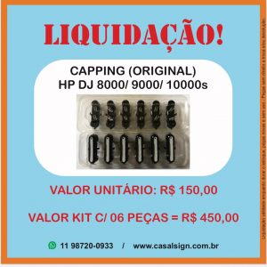 Capping Station HP 8000/9000/10000 DesignJet