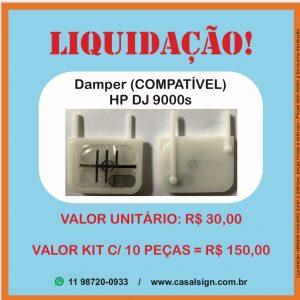 Damper HP 9000s DesignJet