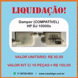 Damper HP 10000s DesignJet